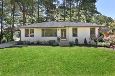 Brookhaven Single Family Home For Sale: 2749 Drew Valley Road