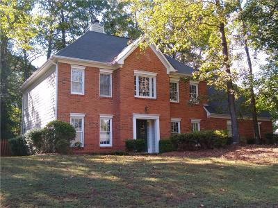 Marietta Single Family Home For Sale: 1200 Wynford Colony SW
