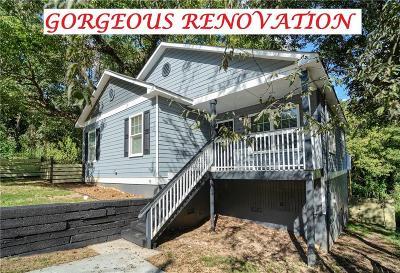 Atlanta Single Family Home For Sale: 895 N Grand Avenue NW