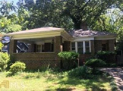 Single Family Home For Sale: 571 Linwood Avenue NE