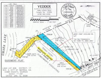 Smyrna Residential Lots & Land For Sale: 4691 Camp Highland Road SE
