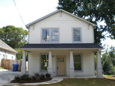 Grant Park Single Family Home For Sale: 451 Atlanta Avenue SE