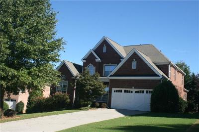 Fulton County Single Family Home For Sale: 7160 Handbell Lane
