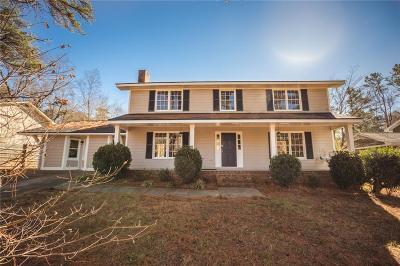 Lilburn Single Family Home For Sale: 1507 Ridgeland Court SW