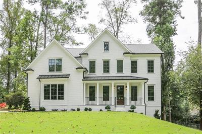 Sandy Springs Single Family Home For Sale: 268 Underwood Drive