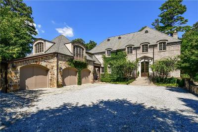 Atlanta GA Single Family Home For Sale: $3,600,000