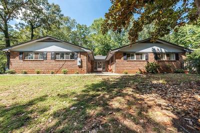 Dallas Single Family Home For Sale: 554 Wilbanks Circle
