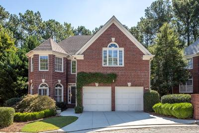 Dunwoody Single Family Home For Sale: 1237 Dunwoody Walk
