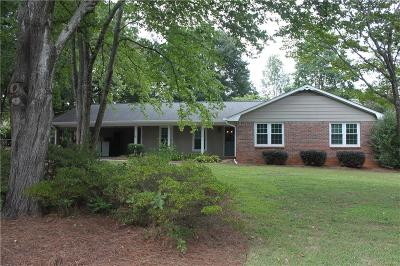 Fulton County Single Family Home For Sale: 1870 Evergreen Lane