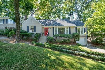 Single Family Home For Sale: 165 Beverly Road NE