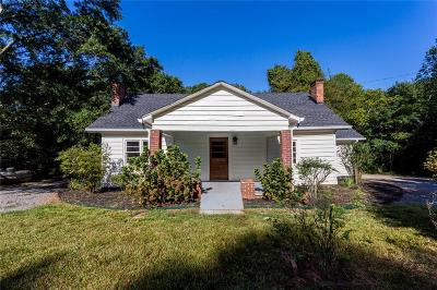 Cherokee County Single Family Home For Sale: 3573 Univeter Rd Road