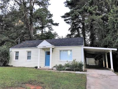 East Atlanta Single Family Home For Sale: 1840 Brannen Road SE