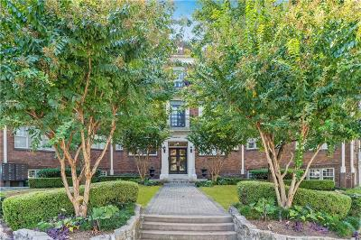 Atlanta Condo/Townhouse For Sale: 908 Juniper Street NE #302