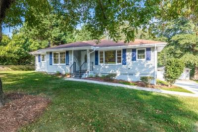 Lawrenceville Single Family Home For Sale: 544 Huff Street