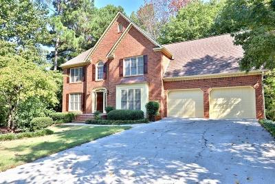 Acworth Single Family Home For Sale: 5812 Fairwood Walk NW