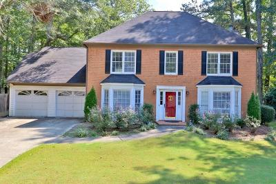 Cobb County Single Family Home For Sale: 1266 Wynford Colony SW