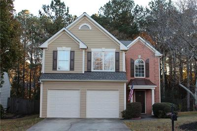 Roswell Single Family Home For Sale: 1065 Crabapple Lake Circle