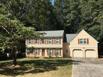 Single Family Home For Sale: 3921 Vineyard Trace NE