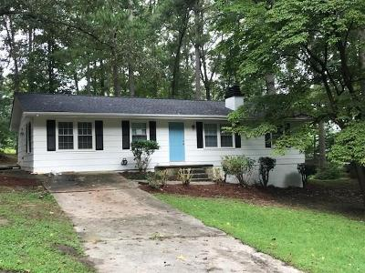 Fulton County Single Family Home For Sale: 5415 Bethlehem Road