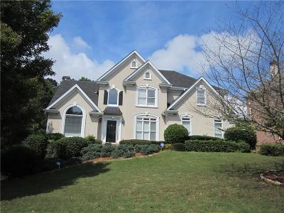 Lawrenceville Single Family Home For Sale: 1475 Highland Lake Drive