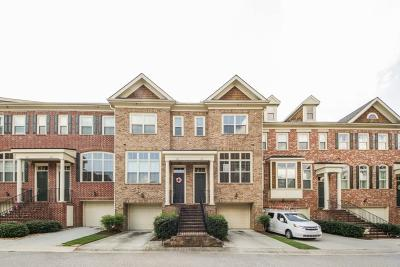 Cobb County Condo/Townhouse For Sale: 1656 Mosaic Way