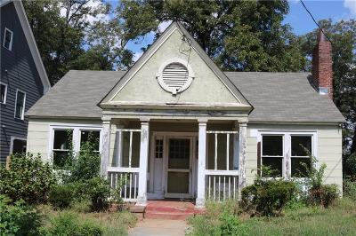 Old Fourth Ward Single Family Home For Sale: 718 East Avenue