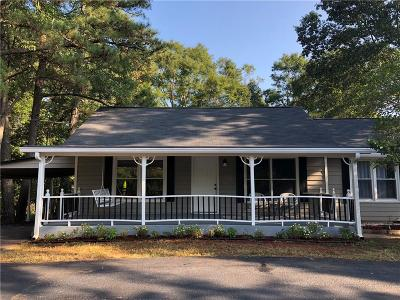Marietta Single Family Home For Sale: 261 Piedmont Road