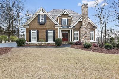 Dawsonville Single Family Home For Sale: 202 Northeast Cove Road