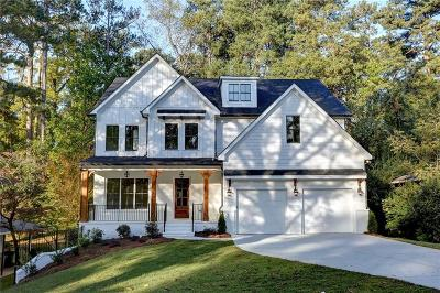 Brookhaven Single Family Home For Sale: 2250 Fairway Circle NE
