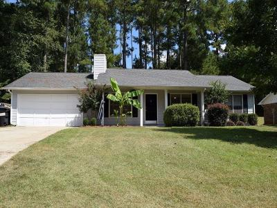Peachtree City Single Family Home Contingent-Due Diligence: 107 Linden Lane