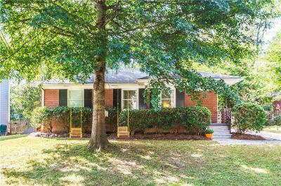 Brookhaven Single Family Home For Sale: 1591 Fearn Circle NE