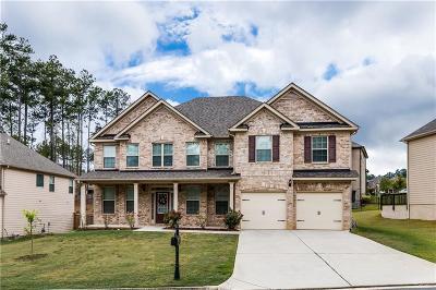 Acworth Single Family Home For Sale: 474 Fairway Drive