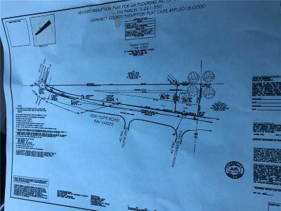 Dacula Residential Lots & Land For Sale: New Hope Road