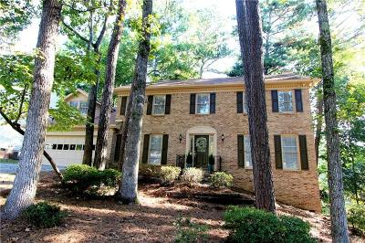 Peachtree Corners Single Family Home For Sale: 5726 High Meadow Drive