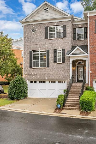 Alpharetta Condo/Townhouse For Sale: 12807 Doe Drive