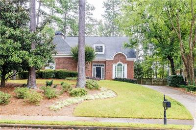 Johns Creek Single Family Home For Sale: 12465 Preserve Lane