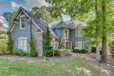 Woodstock Single Family Home For Sale: 1095 Towne Lake Hills E