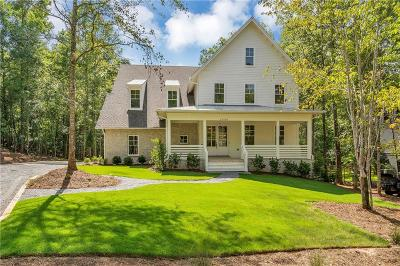 Roswell Single Family Home For Sale: 12550 Sibley Lane