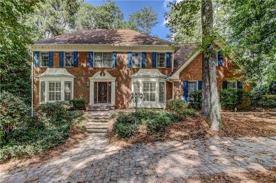 Sandy Springs Single Family Home For Sale: 400 Otter Creek Court