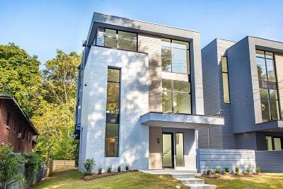 Old Fourth Ward Condo/Townhouse For Sale: 295B Glen Iris Drive