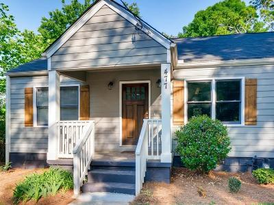 Atlanta Single Family Home For Sale: 477 S Howard Street SE