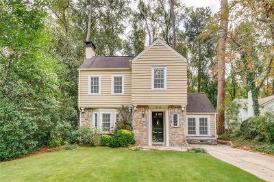 Druid Hills Single Family Home For Sale: 1719 Ridgewood Drive NE