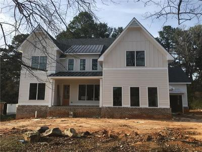 Dunwoody Single Family Home For Sale: 4838 Kings Down Road