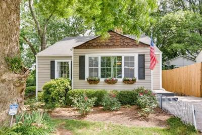 Single Family Home For Sale: 1586 Temple Avenue