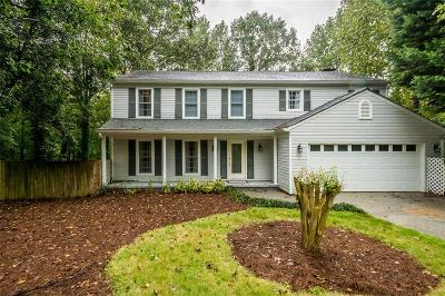 Peachtree Corners Single Family Home For Sale: 3626 Parkside Court
