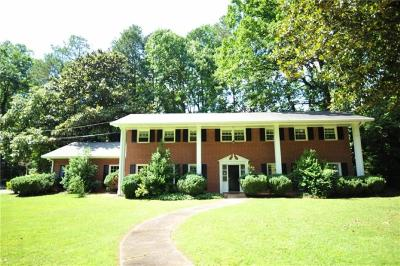 Dunwoody Single Family Home For Sale: 4477 Haverstraw Drive