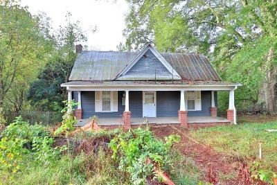 Woodstock Single Family Home For Sale: 10720 Hickory Flat Highway