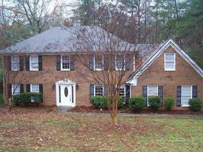 Lilburn Single Family Home For Sale: 2645 Kinnett Drive SW