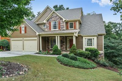 Kennesaw Single Family Home For Sale: 1503 Scenic Overlook Court NW