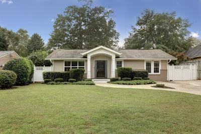 Brookhaven Single Family Home For Sale: 1421 Noel Drive NE